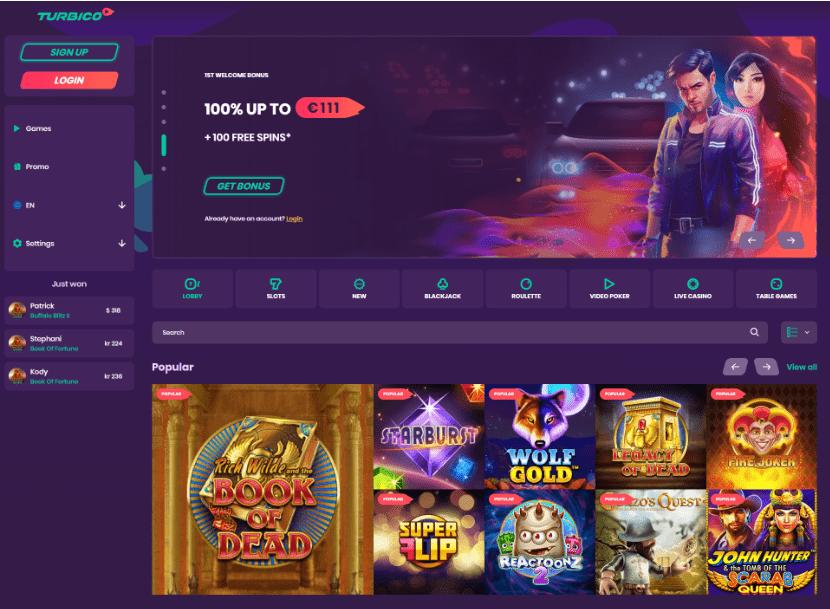 Turbico Casino Updated!
